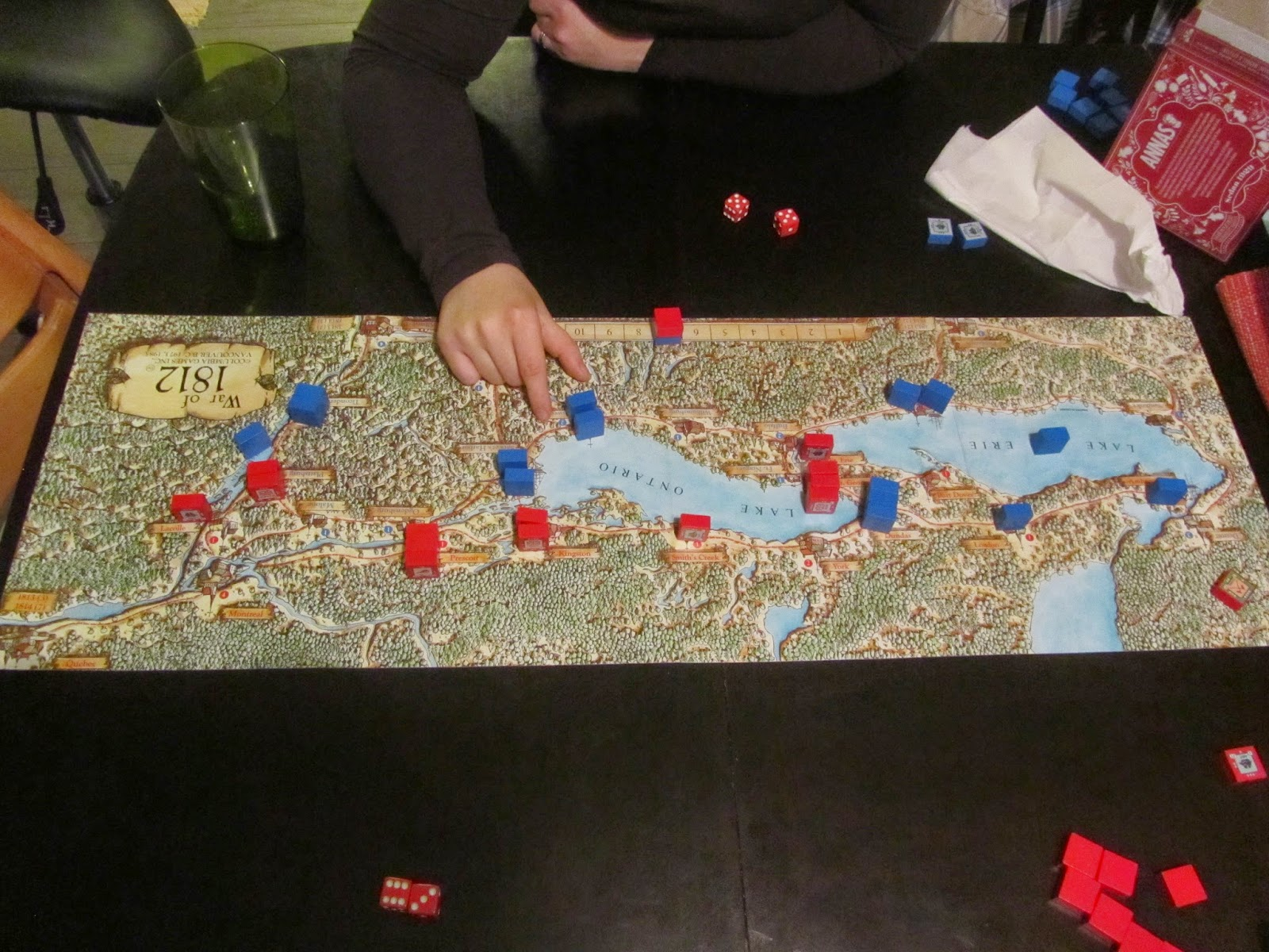 On Wargames and Such: Wargaming with my wife and thoughts on