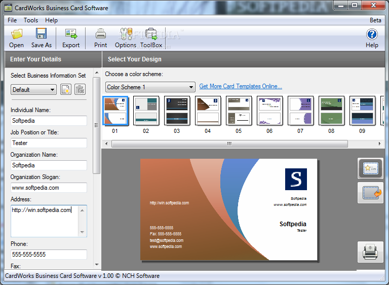 CardWorks Business Card Software Plus v1.14 Incl Crack Free Download