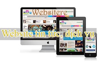 Thiết kế website tin tức, dịch vụ