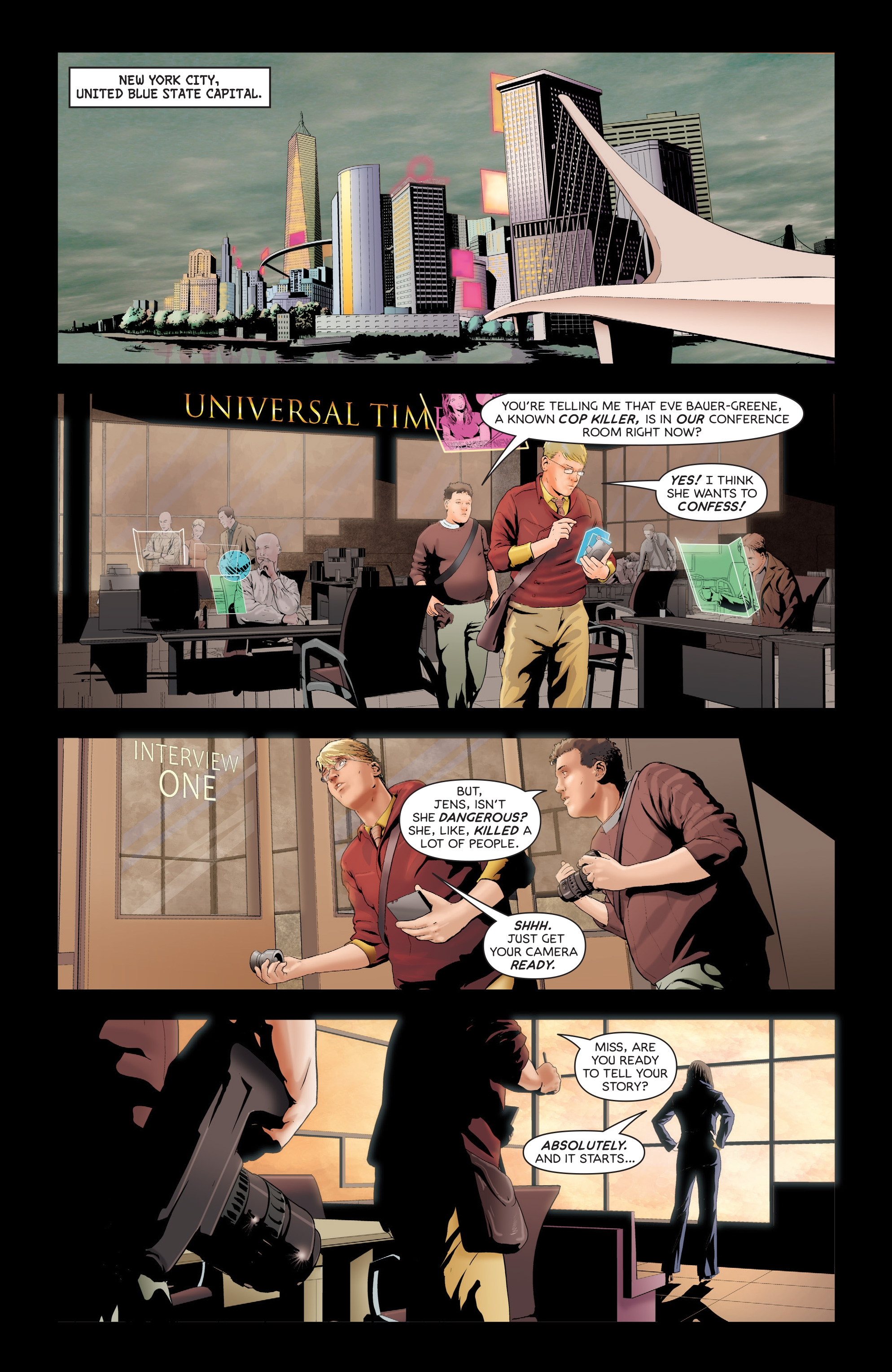 Read online Failsafe comic -  Issue #3 - 3