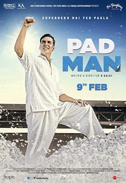 Padman 2018 Hindi Movie Free Download HDRip