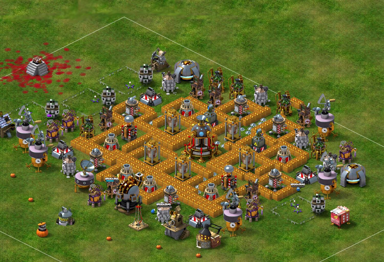 Facebook Backyard Monsters Best Monster Bunker Base ...