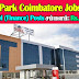 TIDEL Park Coimbatore Recruitment 2019 GM (Finance) Posts