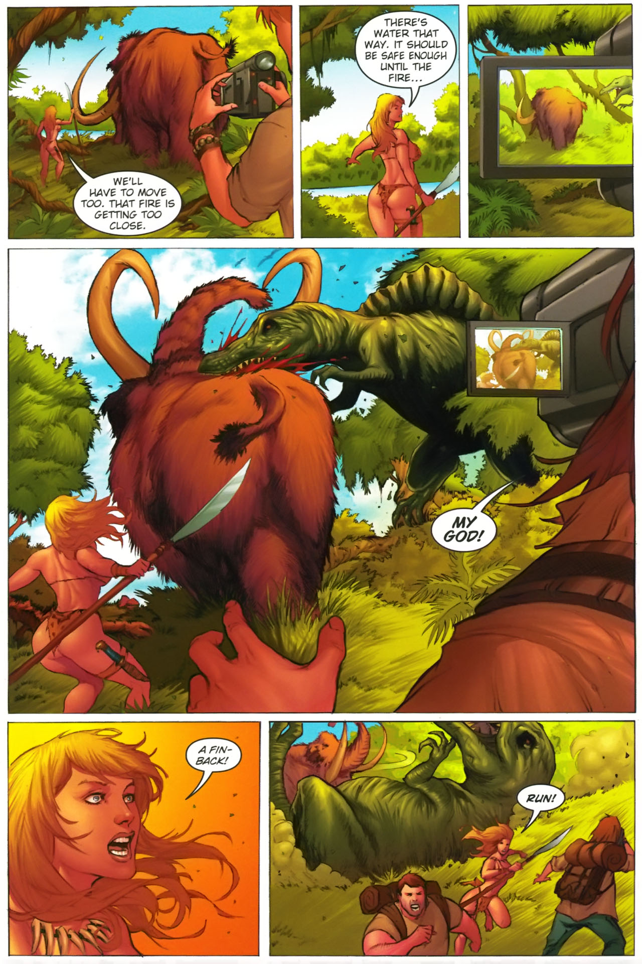 Read online Jungle Girl comic -  Issue #2 - 7