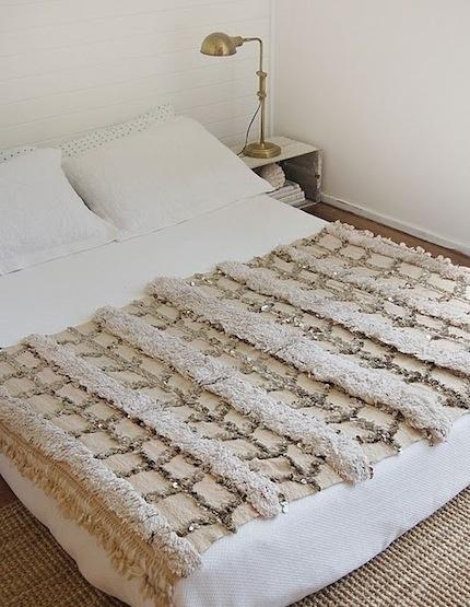 Handira Used As A Blanket