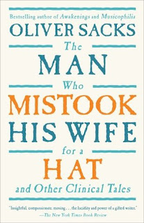The Man Who Mistook His Wife for a Hat and Other Clinical Tales by Oliver Sacks, InToriLex, Book Scoop