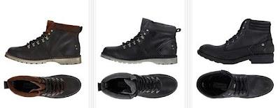 Zapatos de piel Wrangler