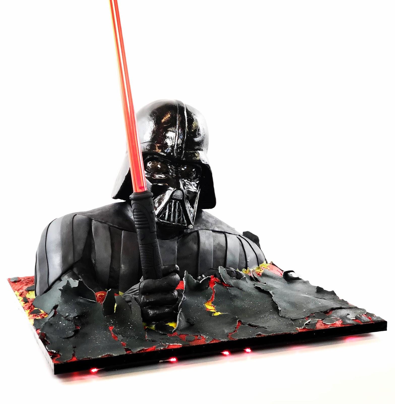 Peachy Darth Vader Star Wars Birthday Cake Birthday Cards Printable Trancafe Filternl
