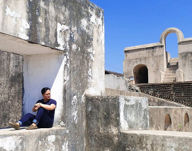 Pesanggrahan di kampung wisata Rejowinangun Jogja, sumber ig @laurentiuslei