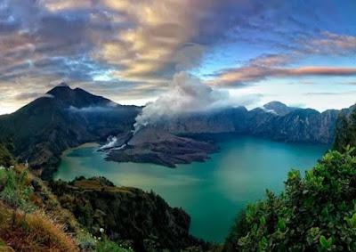 gunung terangker di Indonesia