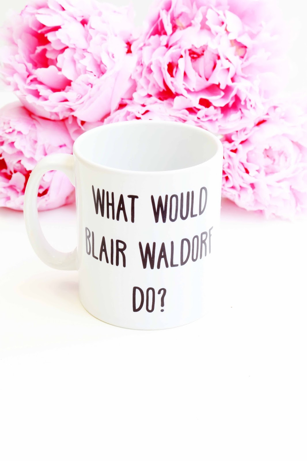 Lifestyle, Blogging, What To Do When You're in a blogging slump, what to do when you run out of blog ideas, Blair Waldorf Mug