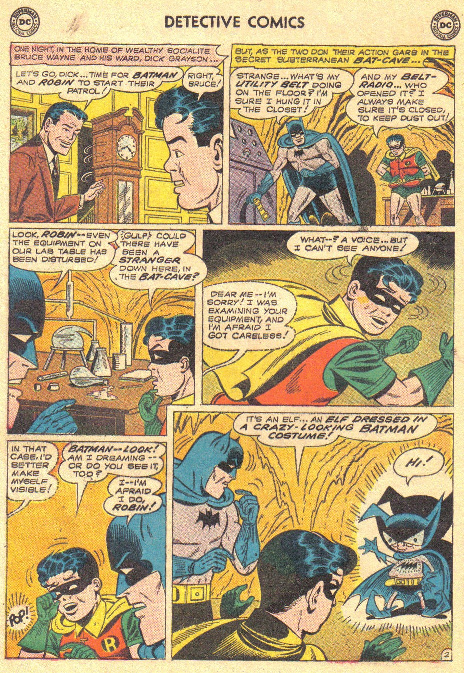 Read online Detective Comics (1937) comic -  Issue #267 - 4