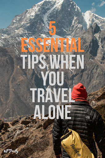 travel tips alone