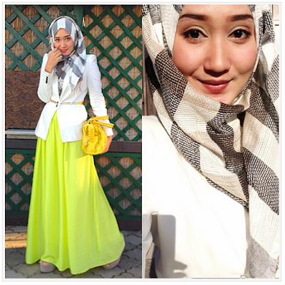 Model Baju Pesta Muslim Dian Pelangi Modern Terbaru