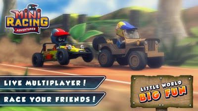 Mini Racing Adventures v1.5.2 Mod Apk-screenshot-1