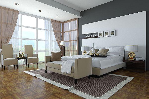 Comment choisir une couleur de peinture pour votre chambre - Peindre une chambre mansardee en 2 couleurs ...