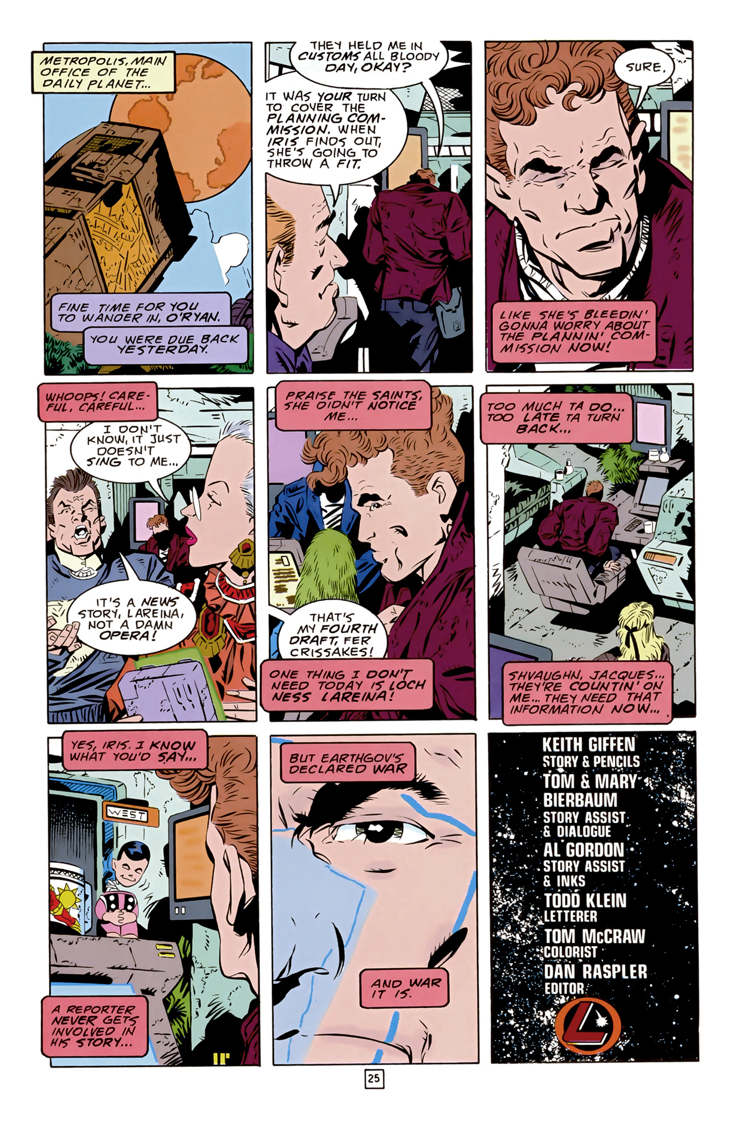 Legion of Super-Heroes (1989) 17 Page 25
