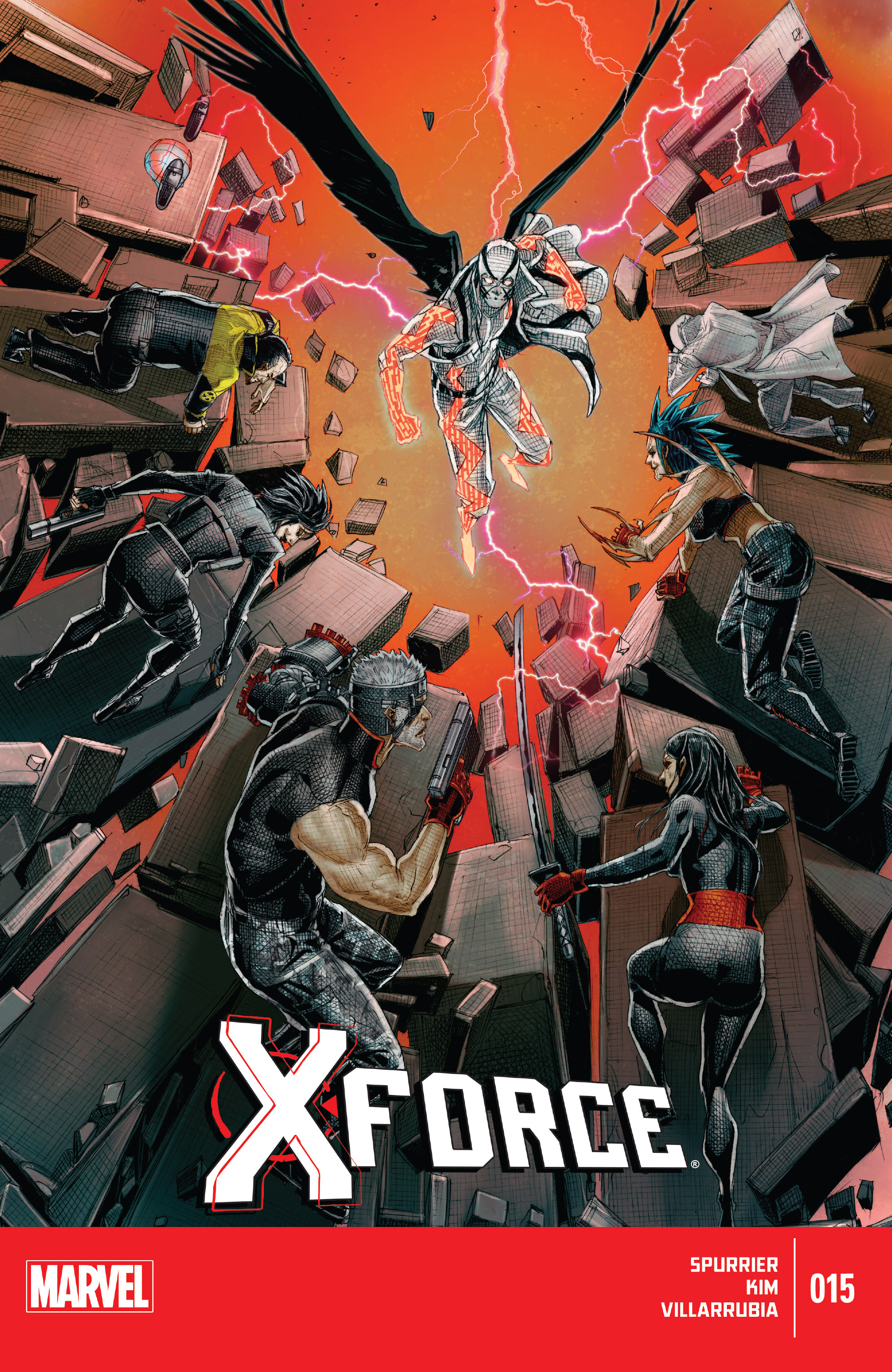 Read online X-Force (2014) comic -  Issue #15 - 1