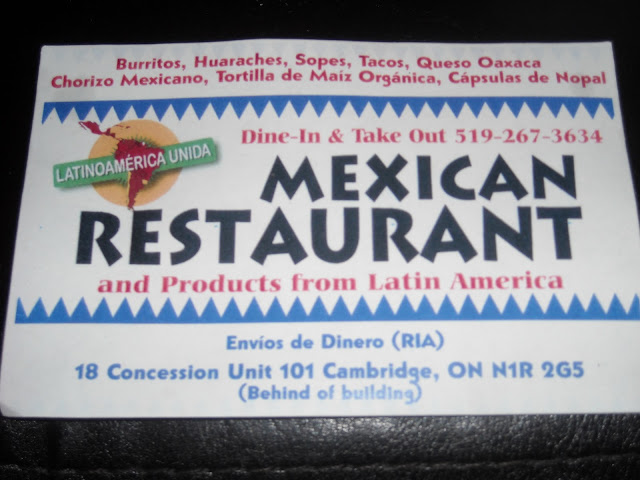Cambridge Ontario Mexican Restaurant
