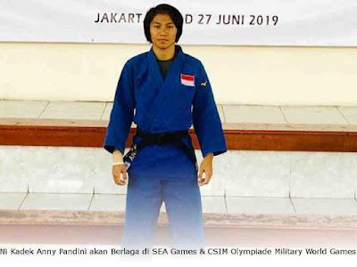 Ni Kadek Anny Pandini akan Berlaga di SEA Games dan CSIM Olympiade Military World Games