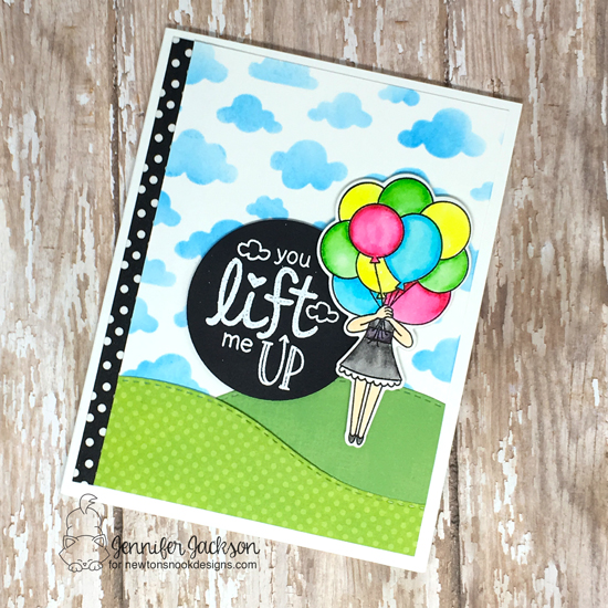 2018 Stamping For Autism Awareness Blog Hop | Uplifting Wishes and Holding Happiness Stamp Set by Newton's Nook Designs #newtonsnook #handmade