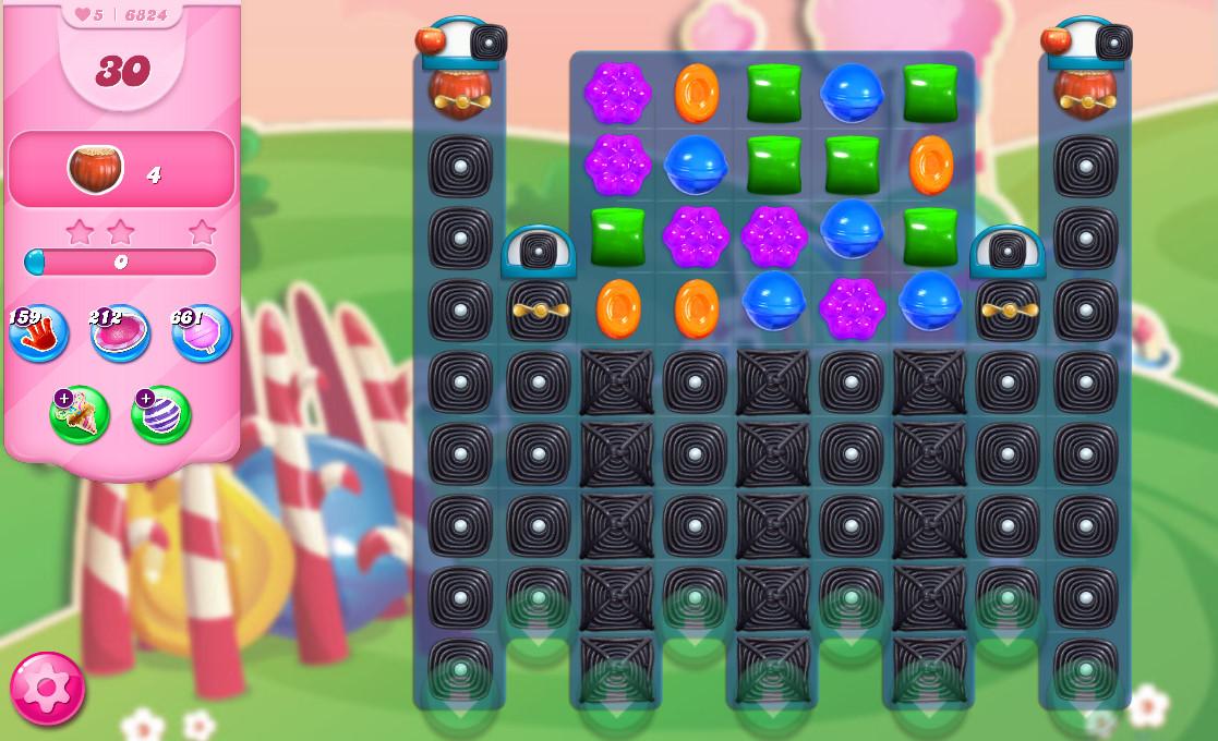 Candy Crush Saga level 6824