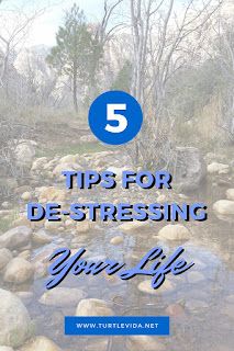 5 Tips for De-Stressing Your Life