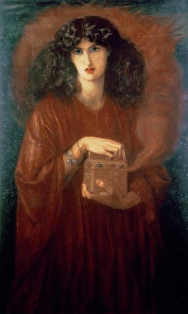Pandora by Dante Gabriel Rossetti.