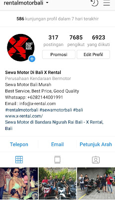 Ulasan-Pelanggan-X-Rental-Motor-Bali-Via-instagram