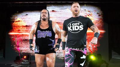 Heath Slater Rhyno retired fired Raw Tag I Got Kids