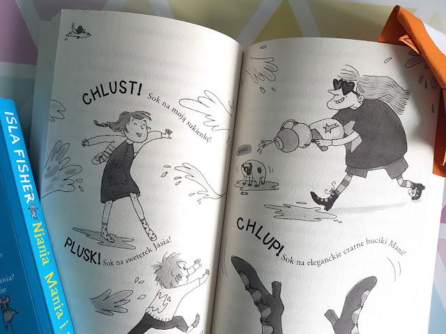 niania dla dziecka - Niania Mania - Isla Fisher - Wydawnictwo Jaguar - książeczki dla dzieci