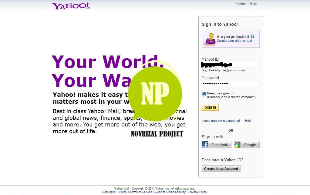 NOVRIZAL PROJECT™: How to switch the newest Yahoo! Mail to