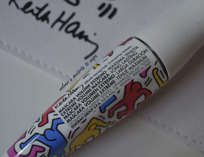 Máscara de Pestañas 24Ore Absolute Volume Keith Haring de Deborah Milano