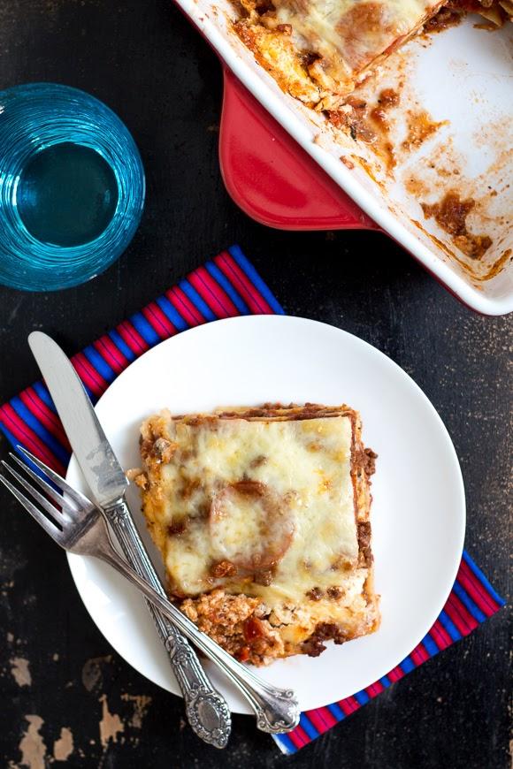 The Best Meat Lasagna