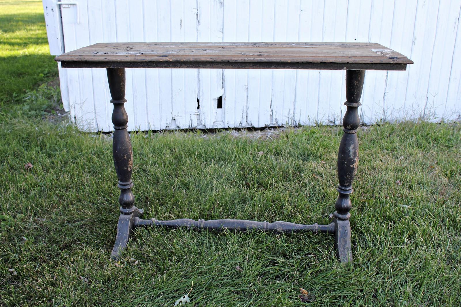 The East Barn: Shabby Chic Sofa Table