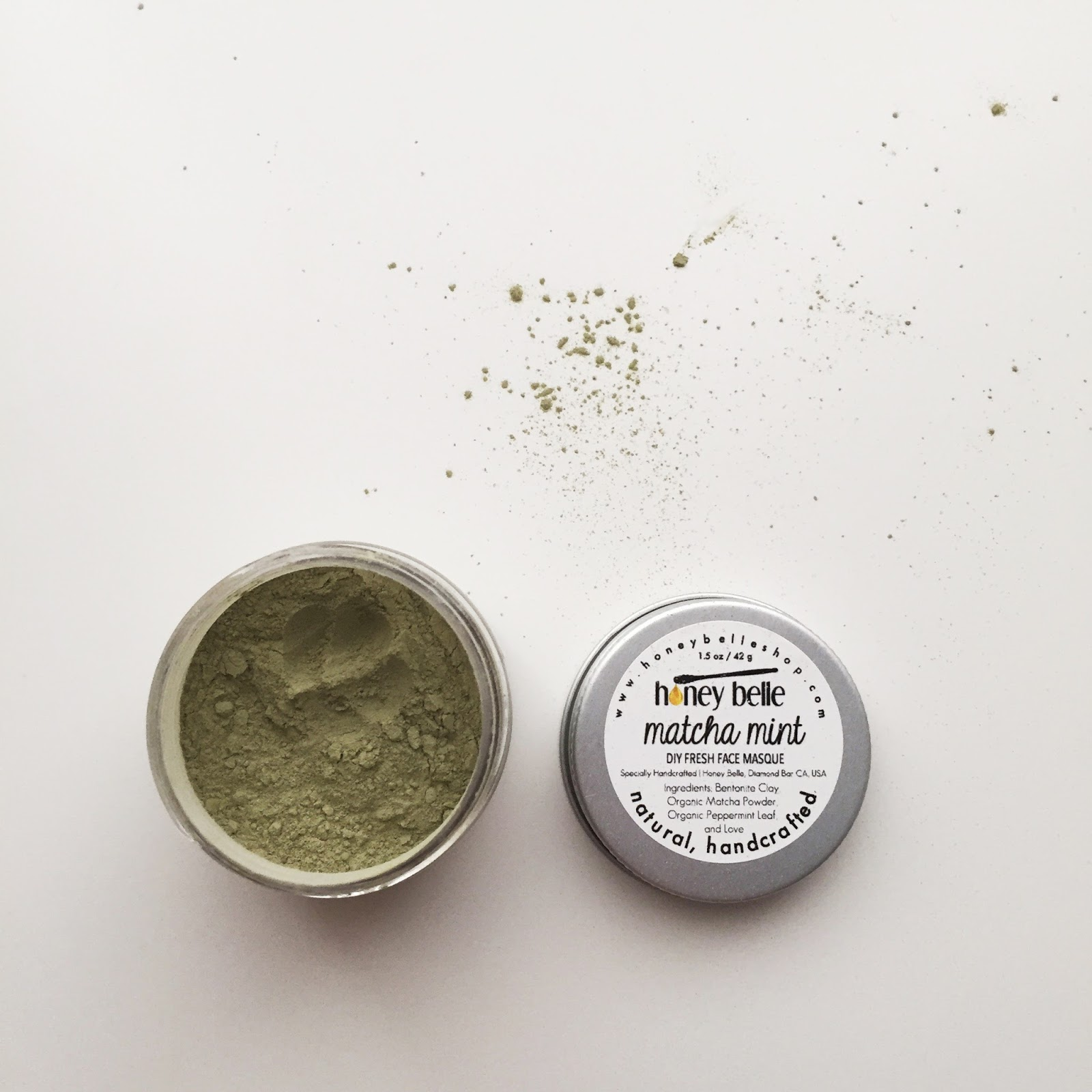 honey belle natural skin care brand review diy matcha mint masque forever21 hellolindasau