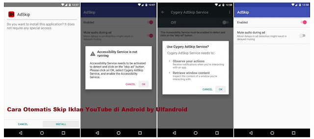 Cara Otomatis Skip Iklan YouTube di Android Tanpa Root