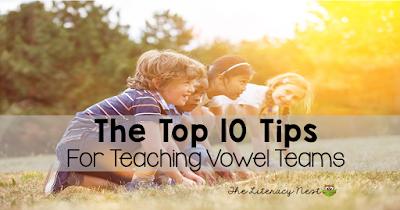 tips for teaching vowel teams
