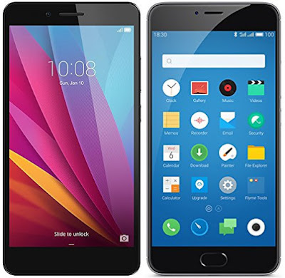 Huawei Honor 5X vs Meizu M3 Note