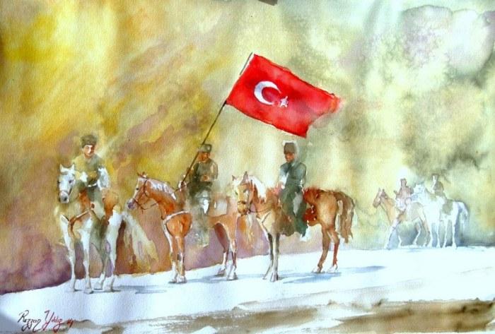 Турецкий художник. Rezzan Yildiz