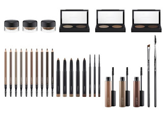 brows are it collection, m.a.c