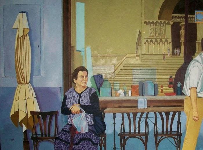 Современный испанский художник. Jose Luis Garcia Pascual