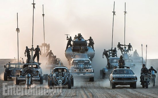 Mad Max:Fury Road en EW