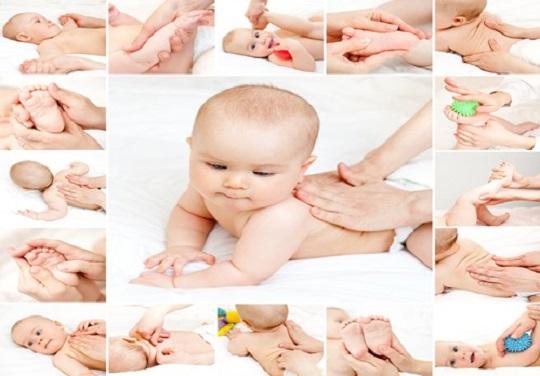 bebek masajı teknikleri