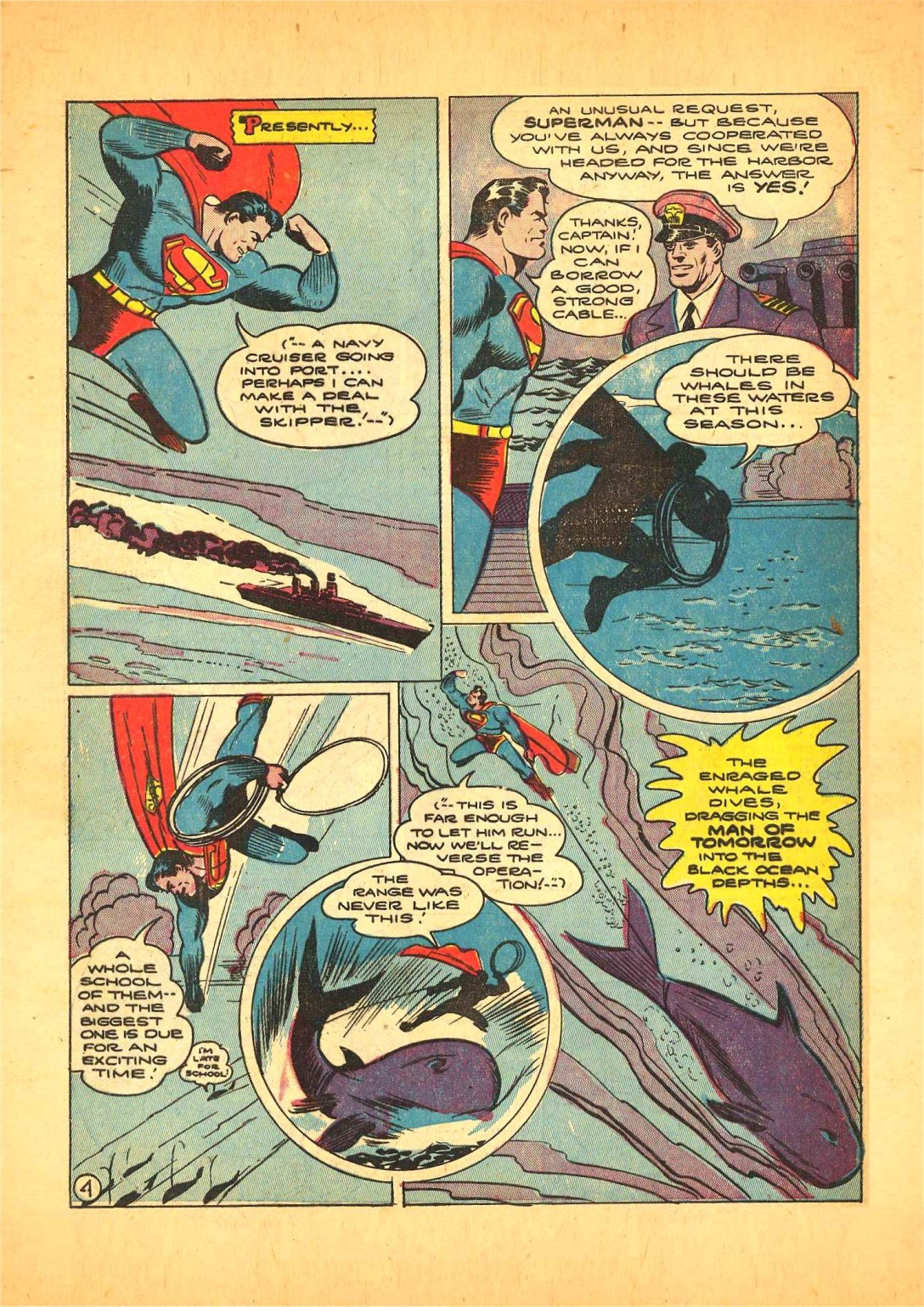 Read online Action Comics (1938) comic -  Issue #68 - 5