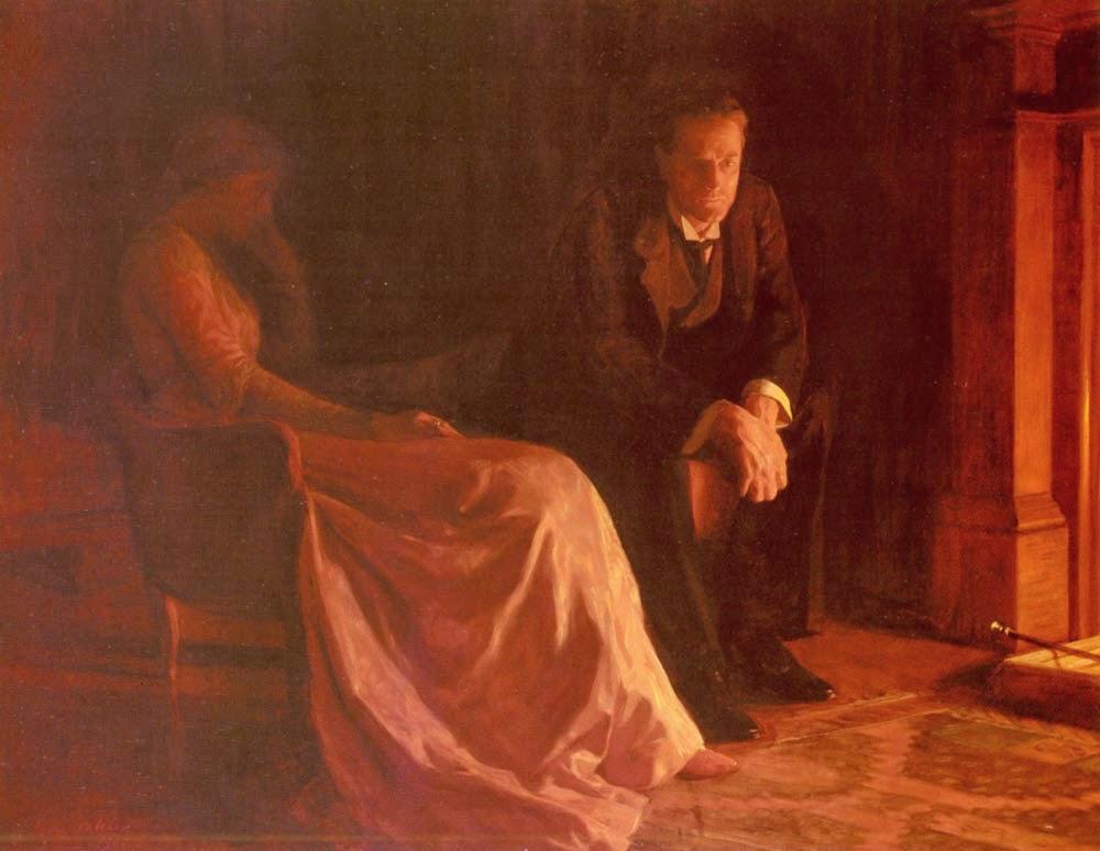 A Confissão - Jhon Collier e suas pinturas belíssismas | Neoclassicismo