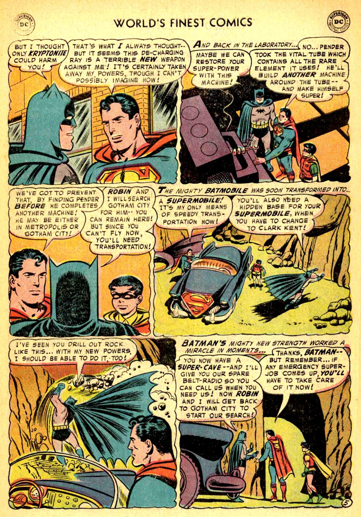 Read online World's Finest Comics comic -  Issue #77 - 7