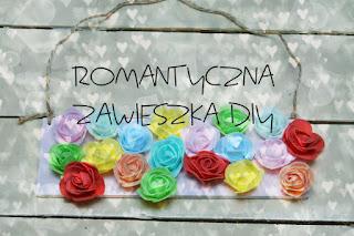 Romantyczna zawieszka DIY