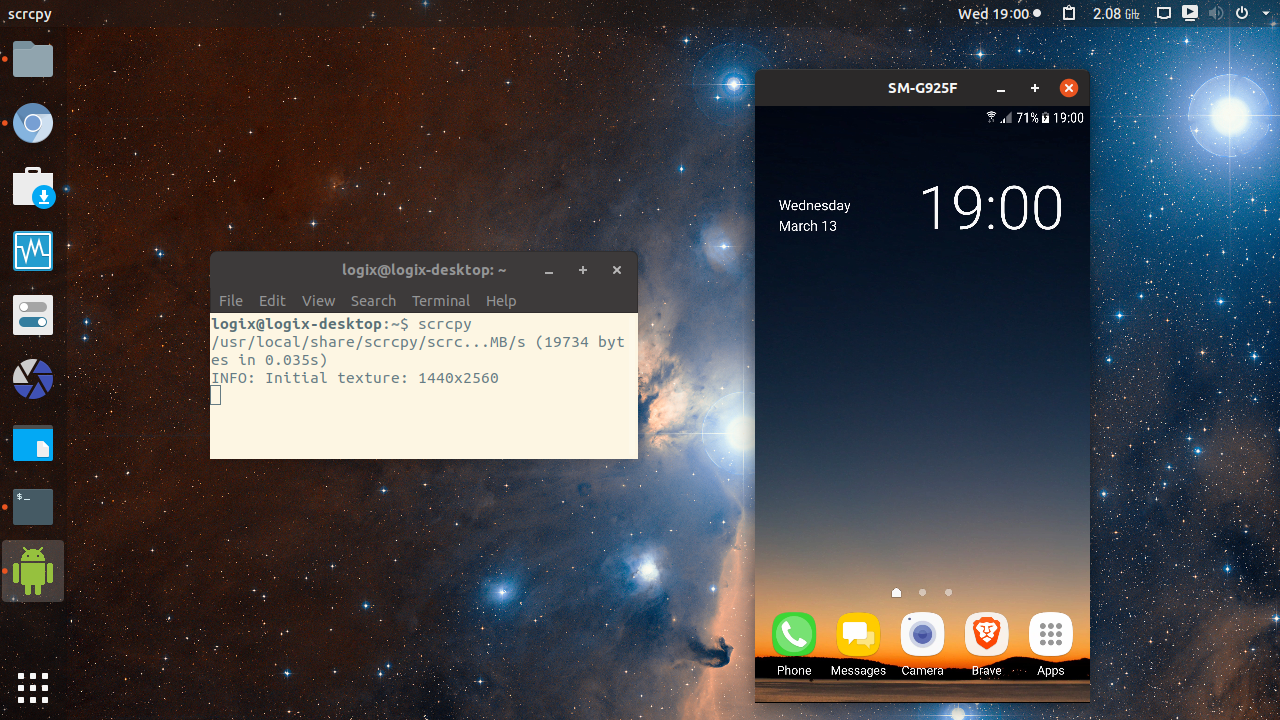 Control Android Devices From A Desktop With scrcpy (Ubuntu
