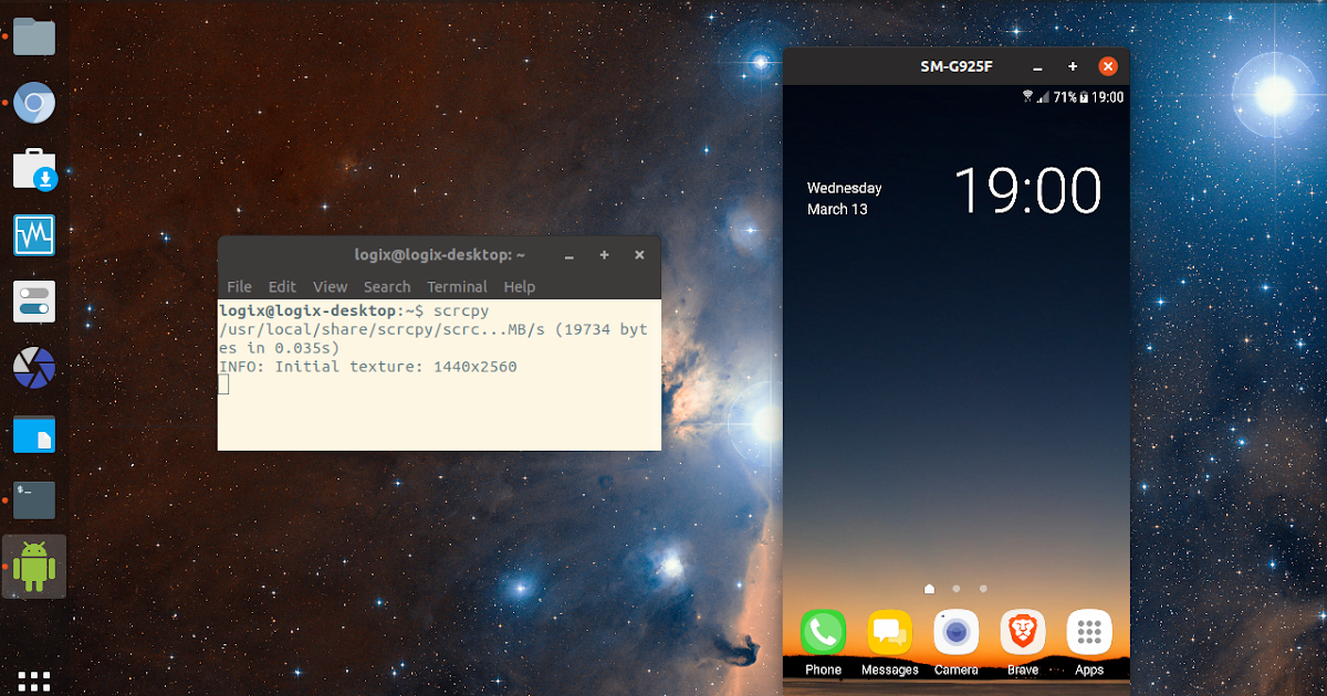 Control Android Devices From A Desktop With scrcpy (Ubuntu ...